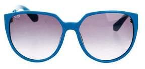 Tod's Logo-Embellished Oversize Sunglasses