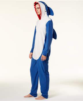 Bioworld Men's Halloween Shark Onesie Costume