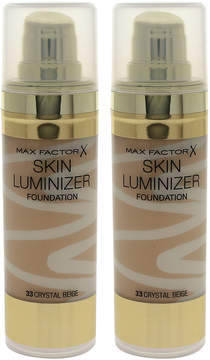 Max Factor Crystal Beige Skin Luminizer Foundation - Set of Two
