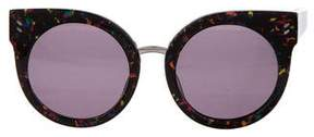 Stella McCartney Cat-Eye Round Sunglasses