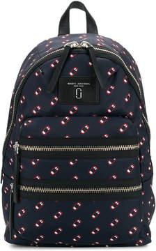 Marc Jacobs Monogram Scream backpack - BLUE - STYLE
