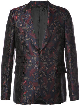 Paul Smith paisley jacquard blazer