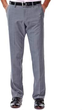 Haggar Men's Straight-Fit Performance Flex-Waist Pants
