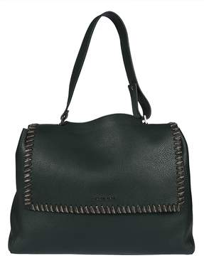 Orciani Oversized Chain Trim Tote