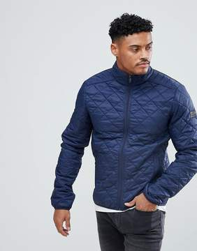 Blend of America Quilted Jacket in Navy
