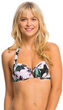 Bikini Lab Swimwear Tropic Full Of Sunshine Push Up Underwire Bikini Top 8140359