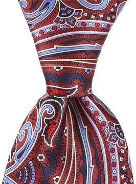 Daniel Cremieux Print Paisley Traditional 3.25#double; Silk Tie
