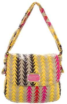 Marc by Marc Jacobs Printed Nylon Satchel
