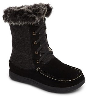 Woolrich Women's Doe Creek Ii Faux Fur Trim Boot