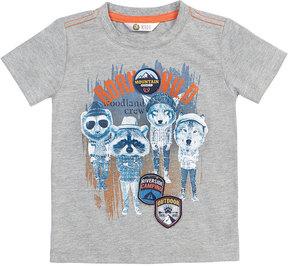 Petit Lem Hipster Critters T-Shirt, Size 2-6X