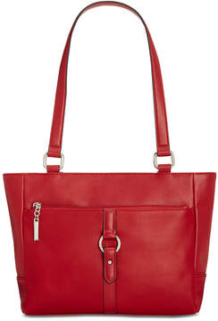 Giani Bernini Leather Ring Small Tote, Created for Macy's