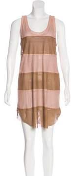 Drome Leather Mini Dress w/ Tags