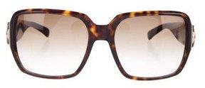 Marc Jacobs Embellished Tortoiseshell Sunglasses