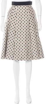 Fausto Puglisi Printed A-Line Skirt