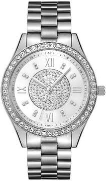 JBW Women's Mondrian Japanese Movement Stainless Steel Real Diamond Watch