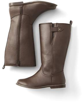 Gap Faux leather riding boots
