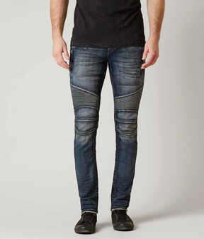 Rock Revival Wendell Biker Skinny Stretch Jean