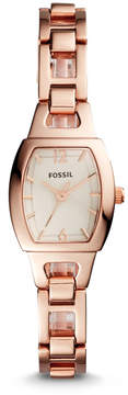 Fossil Isobel Three-Hand Rose Gold-Tone Stainless Steel Watch
