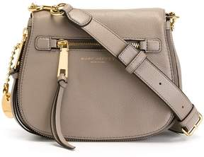 Marc Jacobs small 'Recruit' saddle crossbody bag - GREY - STYLE
