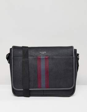 Ted Baker Messenger Bag Buzard in Black