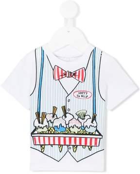Stella McCartney waistcoat print T-shirt