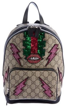 Gucci 2016 GG Supreme Beaded Sky Backpack - PATTERN PRINTS - STYLE