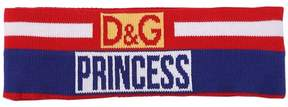 Princess Logo Wool Jacquard Headband