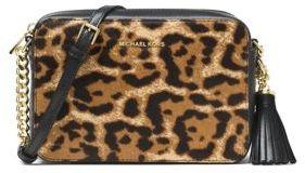MICHAEL Michael Kors Ginny Fur MD Camera bag - BUTTERSCOTCH - STYLE