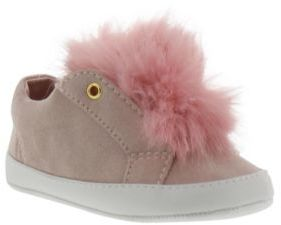 Sam Edelman Baby Girl's Leya Faux Fur Accented Sneakers