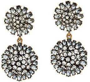 BaubleBar Crystal Dandelion Drop Earrings