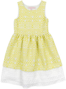 Appaman Girls' Amaryllis Citrus Ice Dress