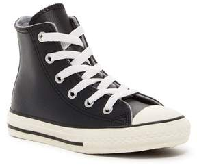 Converse Chuck Taylor® All Star® Leather High Top Sneaker (Little Kid)