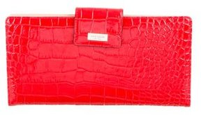 Kate Spade Embossed Leather Clutch - ANIMAL PRINT - STYLE