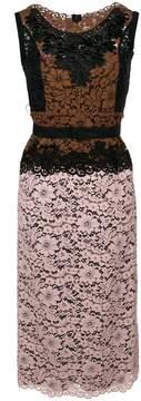 Antonio Marras contrasting lace panel dress