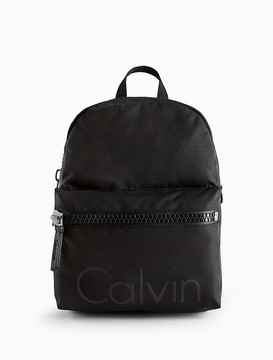 Calvin Klein Force Textured Cotton Backpack
