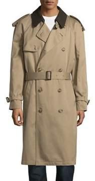 Hart Schaffner Marx Zip-Lined Trench Coat
