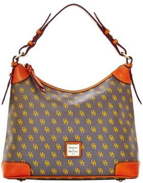 Dooney & Bourke Gretta Hobo Shoulder Bag - CHARCOAL - STYLE