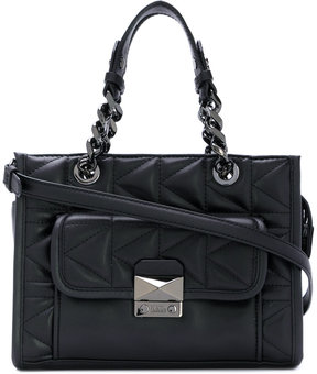 Karl Lagerfeld quilted tote
