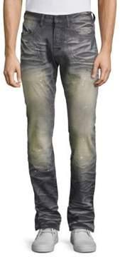 PRPS Investment Demon Mild Distressed Jeans