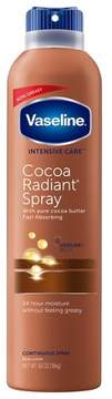 Vaseline Intensive Care Cocoa Radiant Spray Moisturizer 6.5 oz