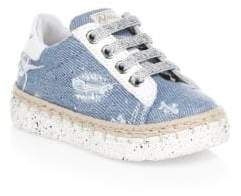Naturino Baby's& Toddler's Vitello Denim Sneakers