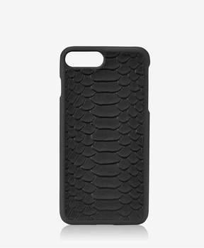 GiGi New York Iphone 7 Plus HardShell Case In Black Embossed Python