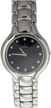 Ebel Beluga 18K White Gold Diamond Dial Womens Watch