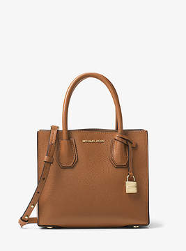 Michael Kors Mercer Leather Crossbody - BROWN - STYLE