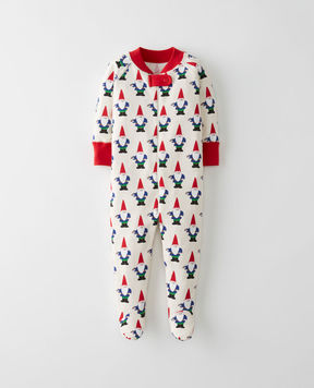 Hanna Andersson Little Sleepers With Feet In Organic Cotton