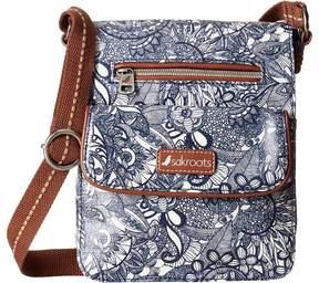Sakroots Artist Circle Small Flap Cross Body Handbags