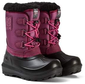 Viking Dark Pink/Black ISTIND Boots