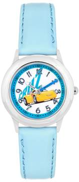 Disney Pixar Cars 3 Cruz Ramirez Kids' Leather Time Teacher Watch