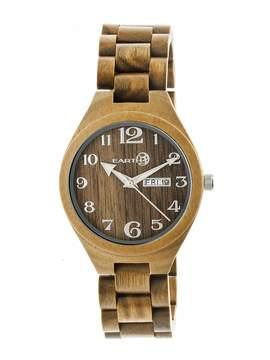 Earth Eco-Friendly Olive Wood Sapwood Watch
