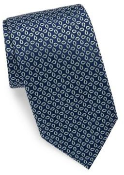 Charvet Raindrop Silk Tie